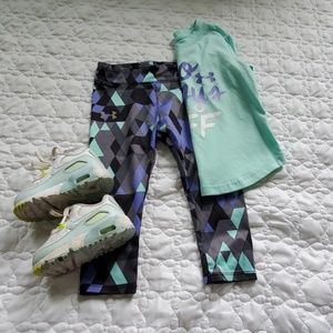 Under armour matching outfit